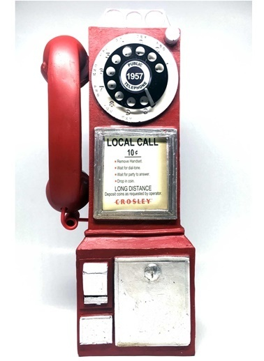 DecoTown Decotown Nostaljik Telefon Biblo Renkli